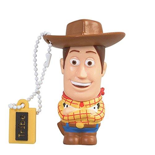 Clé USB 8 Go Woody - Mémoire Flash Drive 2.0 Originale Disney, Tribe FD027405