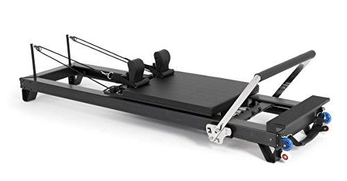 ELINA PILATES. Reformer DE Aluminio HL2 - Máquina Pilates para Profesionales. 27 cm Altura de Cama. Reformer desarrollado por técnicos Expertos en Pilates de Todo el Mundo.