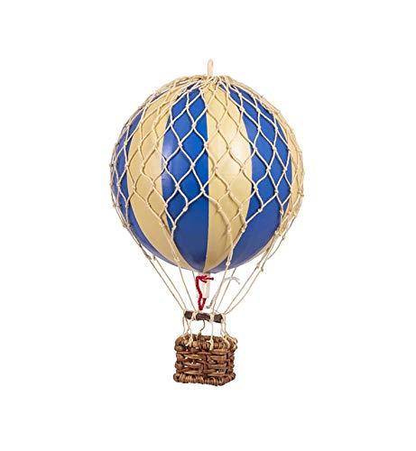 Authentic Models - Dekoballon - Jules Verne - Ballon Blau - 18 cm Durchmesser