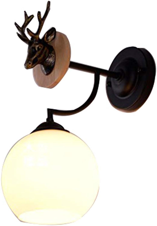Antlers europischen einfachen Mode-Stil Eisen Einzelkpfe Kronleuchter, amerikanischen lndlichen Wohnzimmer Esszimmer Schlafzimmer Beleuchtung Hirsch Geweih Eisen Lampen von SHOME