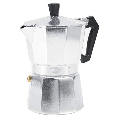 Espresso Coffee Maker, Portable Coffee Cup Pod Mocha Pot, Mocha Coffee Maker, Household(150ML 3cups)