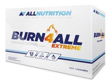 ALLNUTRITION Burn4all Extreme Fettburner Fettreduktion Sport Training Bodybuilding (120 Kapseln)