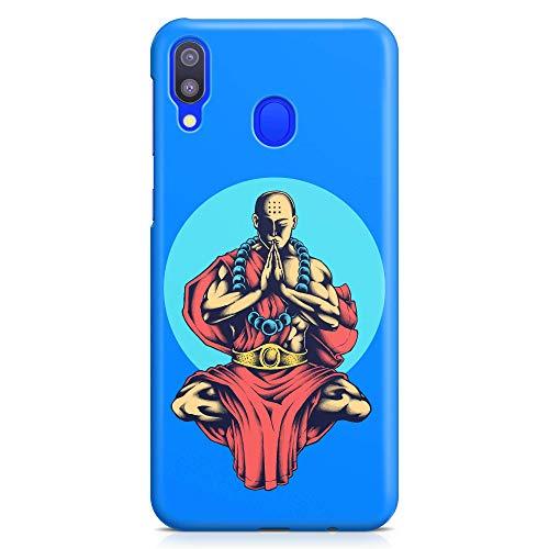 ItalianCaseDesign - Funda protectora interior Budista Monaco Tibet Yoga Meditación Artes Marciales Compatible con Xiaomi Redmi Note 7-7 PRO (elige tu modelo)