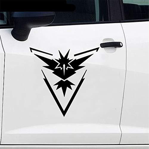 Auto Styling Pokemon Go Team Instinct Sticker Sticker voor auto Laptop Window Sticker