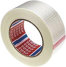 Tesa 4591 cross filament tape voor algemeen gebruik 75 mm. 50 m.