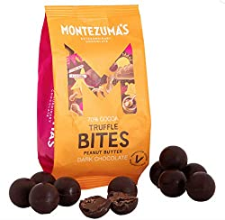 Extraordinary 70% Dark Chocolate Truffle Bites with Peanut Butter Chocolate should always put a smile on your face and a spring in your step. These nutty, dark chocolate balls with a creamy peanut butter centre, definitely do that for you. Perfect fo...