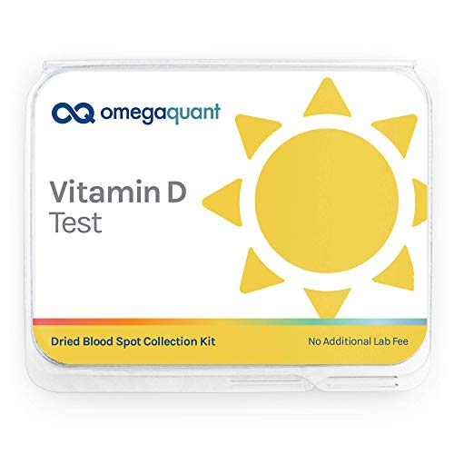 Omega Quant Vitamin D Home Test Kit - with Collection Kit,...