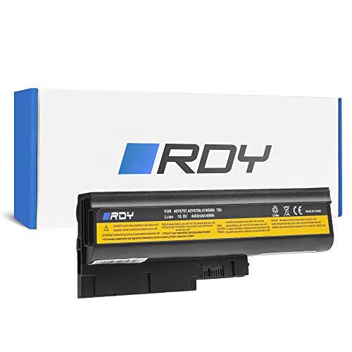 RDY Laptop Battery for Lenovo IBM ThinkPad T500 2261 4062 W500 4058 4061 4063 4064 4065 Z60m 0660 0672 0673 0674 0675 2529 2530 (4400mAh 10.8V)