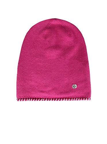 Zwillingsherz Slouch-Beanie-Mütze mit Kaschmir - Hochwertige Strickmütze für Kinder Baby-s Mädchen Jungen - Hat - Unisex - warm und weich im Sommer Herbst und Winter von Cashmere Dreams pink