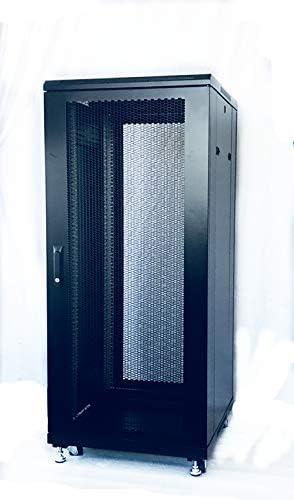RAISING ELECTRONICS 27U Network Server Cabinet 600mm Deep Steel Structure-Ship from California