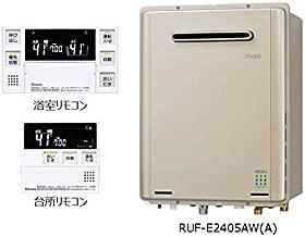 リフォーム (工事込・一括払)   リンナイ ガス給湯器 エコジョーズ   戸建   24号 フルオート 壁掛型