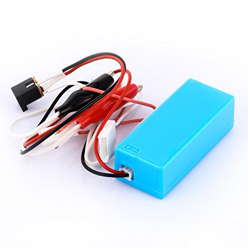 KUNSE 12V DC Entrada Ccfl Inverter Tester Ccfl Lámpara Prueba Herramienta Reparación Cable para LCD TV Laptop Pantalla Contraluz Reparación 🔥