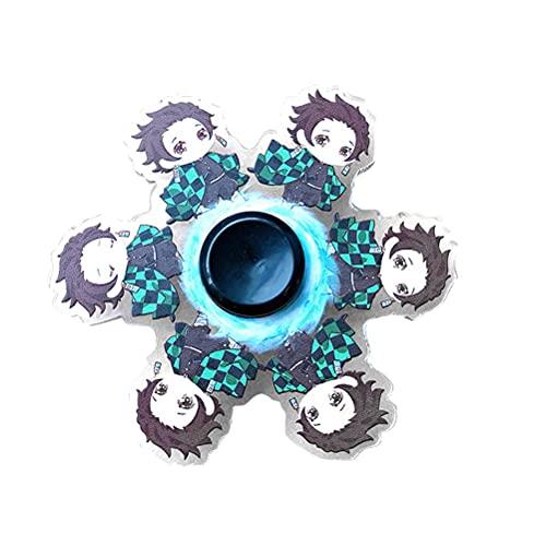 Dan&Dre Fidget Spinner juguete de mano, running, anime, dinámico, alivio del estrés en la punta de los dedos, juguete giratorio para niños y adultos