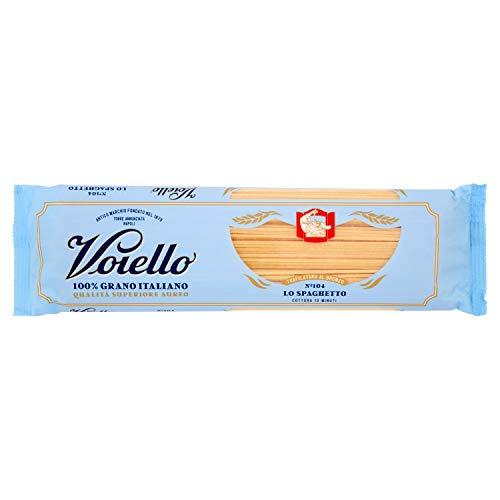 Voiello Pasta Spaghetti N.104, Pasta Lunga di Semola Grano Aureo 100%, 500g