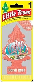 Little Trees Car Freshner U1P-17186 Car Air Freshener, Coral Reef - Quantity 24