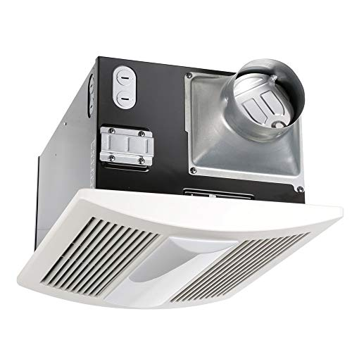 Panasonic FV-11VHL2 WhisperWarm Lite Fan/Heater/Light Combination, Ventilation Fan, Extremely Quiet, Long Lasting, Easy to Install, Code Compliant, Energy Star Certified, White