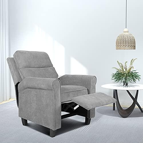 Reclining Sofa Fabric Sofa Chair