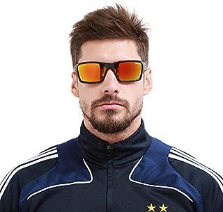 KDEAM Polarized Sports Sunglasses Driving Sun Glasses for Men Women Square Frame Cycling Running Fishing Golf 100% UV Prot...