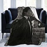 ZEMIOF Damon Salvatore Fleece Blanket Lightweight Super Soft Cozy Luxury Bed Blanket Microfiber