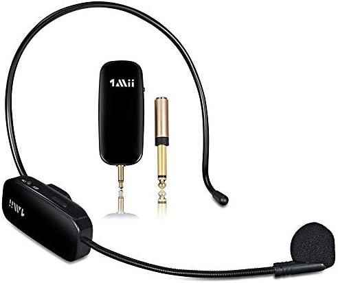 1Mii Long Range Wireless Microphone Wireless Headset Mic System 160ft Range 2 4G Wireless Microphone product image