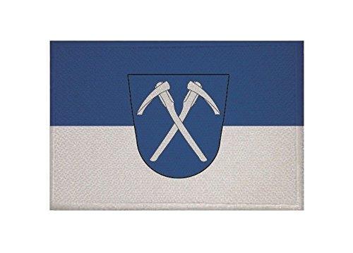 U24 Aufnäher Bad Homburg vor der Höh Fahne Flagge Aufbügler Patch 9 x 6 cm