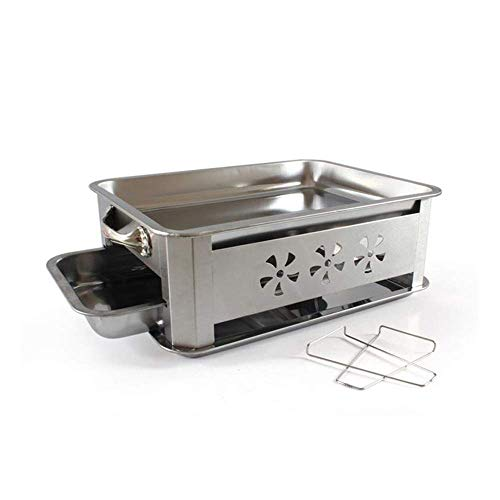Purchase Family gathering / small barbecue Small Outdoor Barbecue Charcoal Stainless Steel 3-5 Peopl...