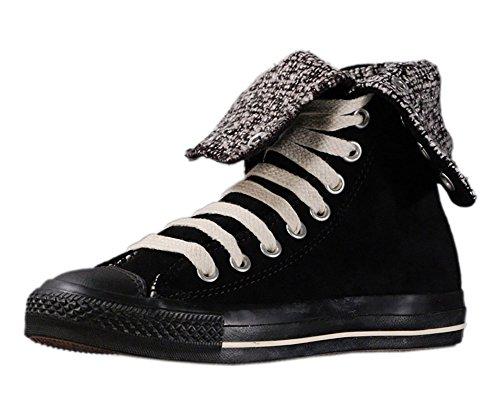 Converse - Zapatillas Chuck Taylor All Star altas, color Negro, talla 37.5 EU
