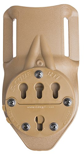 G-CODE RTI Duty Mount Belt Slide-GCA 30-(TAN)-fits 2inch Belts 100% Made in USA