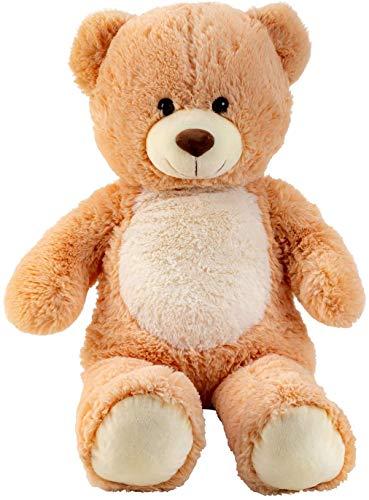 Lifestyle & More Riesen Teddybär Kuschelbär XL 80 cm groß Plüschbär Kuscheltier samtig weich - zum liebhaben