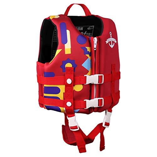 Boglia Kids Swim Vest Toddler Life Jacket Infant Life Vest Pool Float with Adjustable Safety Strap,Floaties for Age 1-9 Years/22-50Lbs