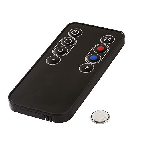 Telecomando di Ricambio per Dyson AM07 AM08 AM06 Ventilatore, Nero 965824-01 Telecomando Sostitutivo con Batteria CR2025