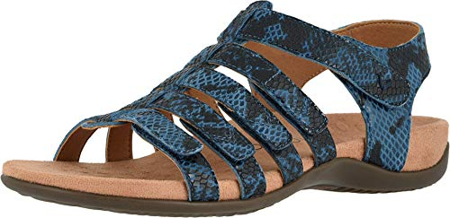 Vionic Women's Rest Harissa Backstrap Fisherman Walking Sandals - Adjustable Gladiator Sandal...