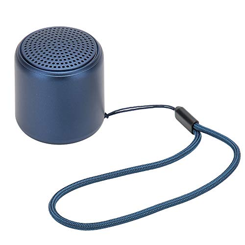 Byged Mini Altavoz Bluetooth, EstéReo con TecnologíA De Graves Profundos, TWS, PequeñO Altavoz Bluetooth PortáTil para Dormitorio, Uso En Exteriores, Viajes, como Regalo para Juguetes Musicales(Azul)