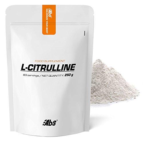 L-CITRULLINE EN POUDRE * 83 portions / 250 g * Vasodilatateur, récupération après l'exercice physique, performance * Garantie Satisfait ou Rembours * Fabriqué en France