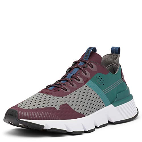 Sorel Men's Kinetic Rush Mesh Sneaker - Epic Plum, Quarry - Size 13