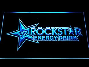 Rockstar Energy Drink Beer Bar LED Neon Sign Man Cave A228-B