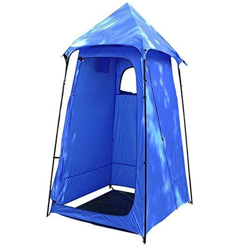 Tent Carpa de Ducha al Aire Libre Carpa privada Carpa de baño al Aire Libre Vestuario portátil extraíble Carpa Multifuncional Azul Adecuada para 1 Persona