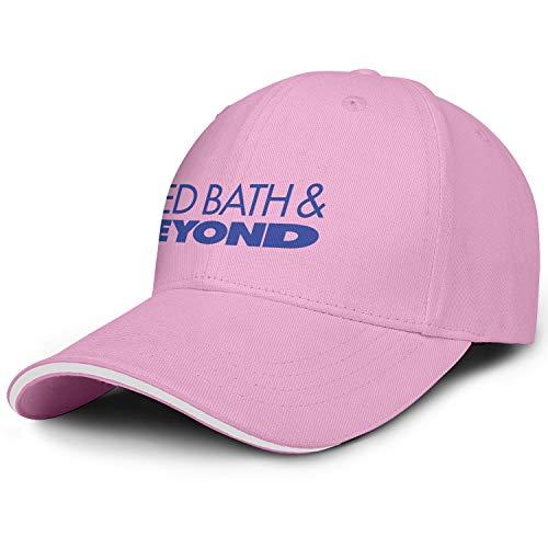 Unisex Men's Baseball Hats Retro Adjustable Sun Bed-Bath-Beyond-Logo-Flat Cap