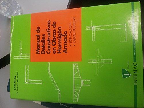 Manual de detalles constructivos en obras de hormigon armado