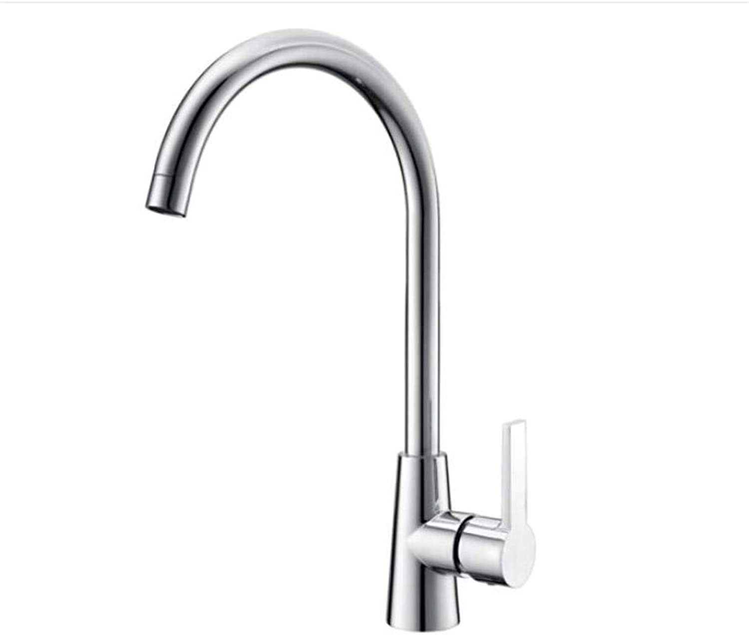 Bathroom Sink Basin Lever Mixer Tap Kitchen Faucet Cold and Hot Water Tank Faucet Dishwasher Sink Faucet