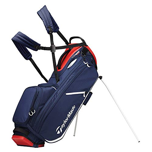 TaylorMade 2019 Flextech Crossover Stand Golf Bag, Navy/Red/White