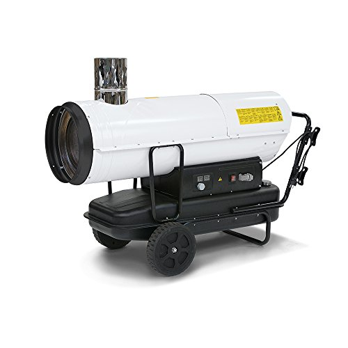 TROTEC Ölheizgebläse IDE 60 Heizkanone   Ölheizer   Ölbeheizung   Heizer (60 kW Heizleistung)