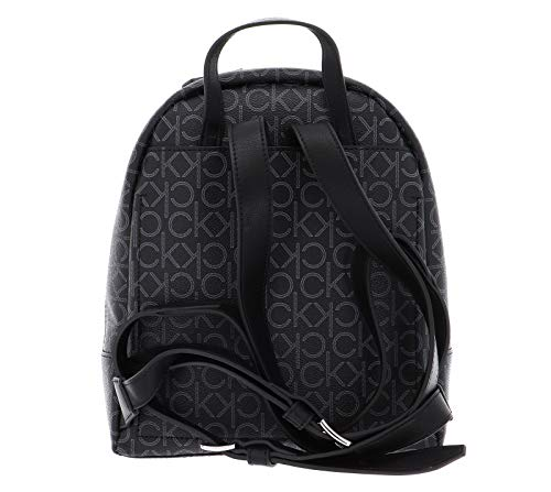 41NZN2OvdwL - Calvin Klein Small Backpack CK Mono Small Backpack Black Mix