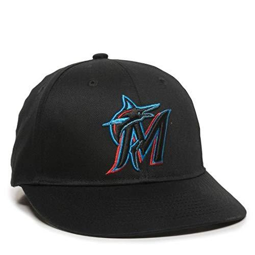 OC Sports Miami Marlins Hat Official Replica Adult Baseball Cap Adjustable Blue