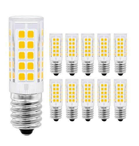 ALBN LED Lampe E14,Menta, 5W Ersatz für 40W Halogen Lampen Warmweiß 3000K, E14 LED Birnen 330lm AC220-240V, Globaler 360° Abstrahlwinkel, 10er Pack