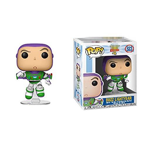 Figuras Pop Dibujos Animados Toy Story Buzz Lightyear # 523 Figura De Acción De Vinilo 10Cm, Colección De Juguetes De PVC