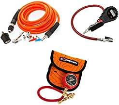 ARB 4X4 Accessories Digital Tire Inflator Bundle with Tire Inflation Kit for Air Compressors and E-Z Deflator Kit