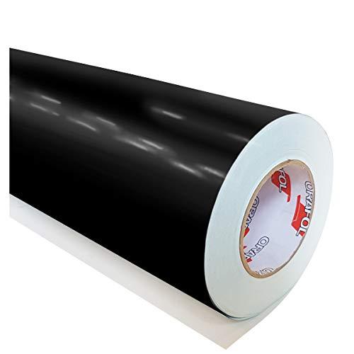 hauptsachebeklebt Oracal 621 Folie 070 - Schwarz Klebefolie - 5m x 63cm - Orafol - Möbelfolie - Plotterfolie- selbstklebend