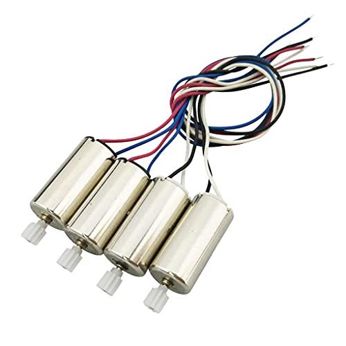 HomeDecTime 4PCS Motore in Metallo con Ingranaggi in Plastica Aggiornato Accs per
