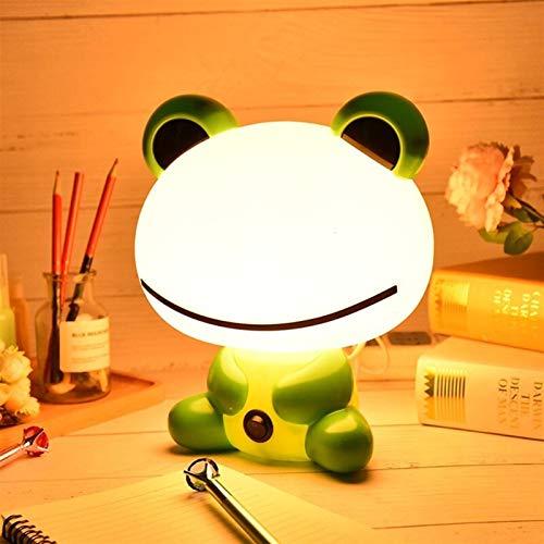 Lámparas de mesa 3D Lámpara de cama noche de dormir Dibujos animados de dibujos animados de lámparas de mesa LED Luz de noche Lámpara de niños con bulbo Bebé Alimentación Nightlights Escritorio